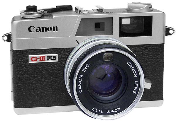 Canon G-III QL