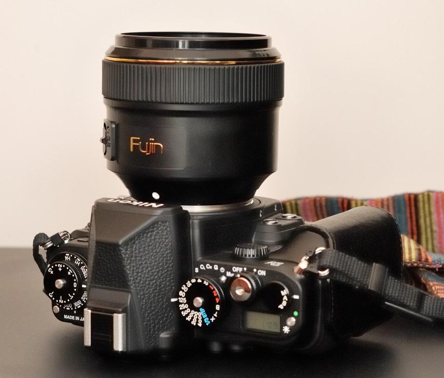 Fujin Camera Cleaner on Nikon Df