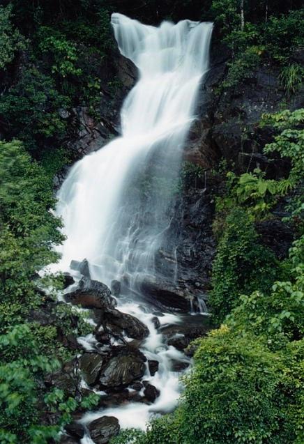 Waterfalls on Fuji