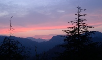 Pink Sunset at Natadol