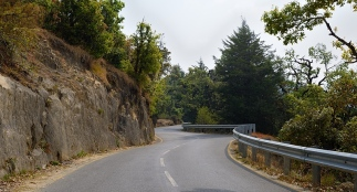 Road in Kumaon