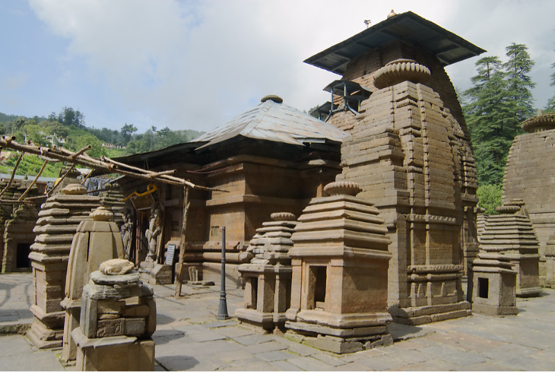 One of the main temples at Jageshwar