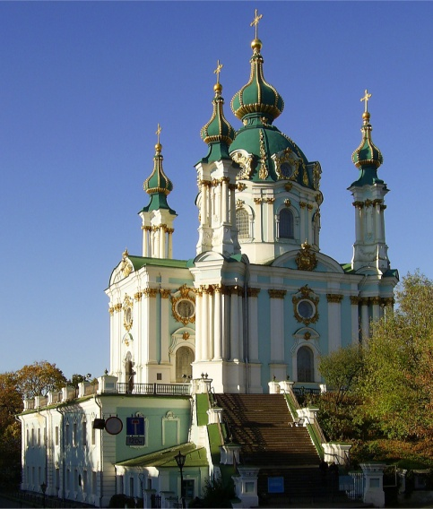 St. Andrew's Church in Kyiv