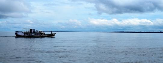 Boat to Majuli