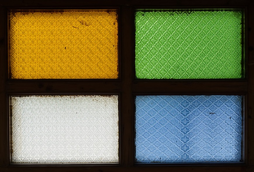 Colored Glass Panes