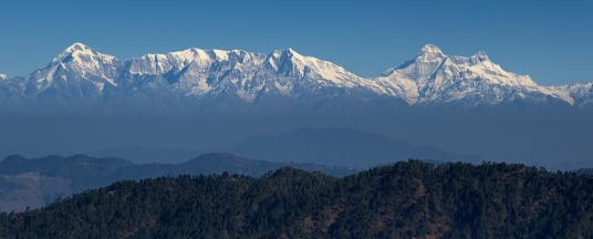 Trishul and Nanda Devi Peaks