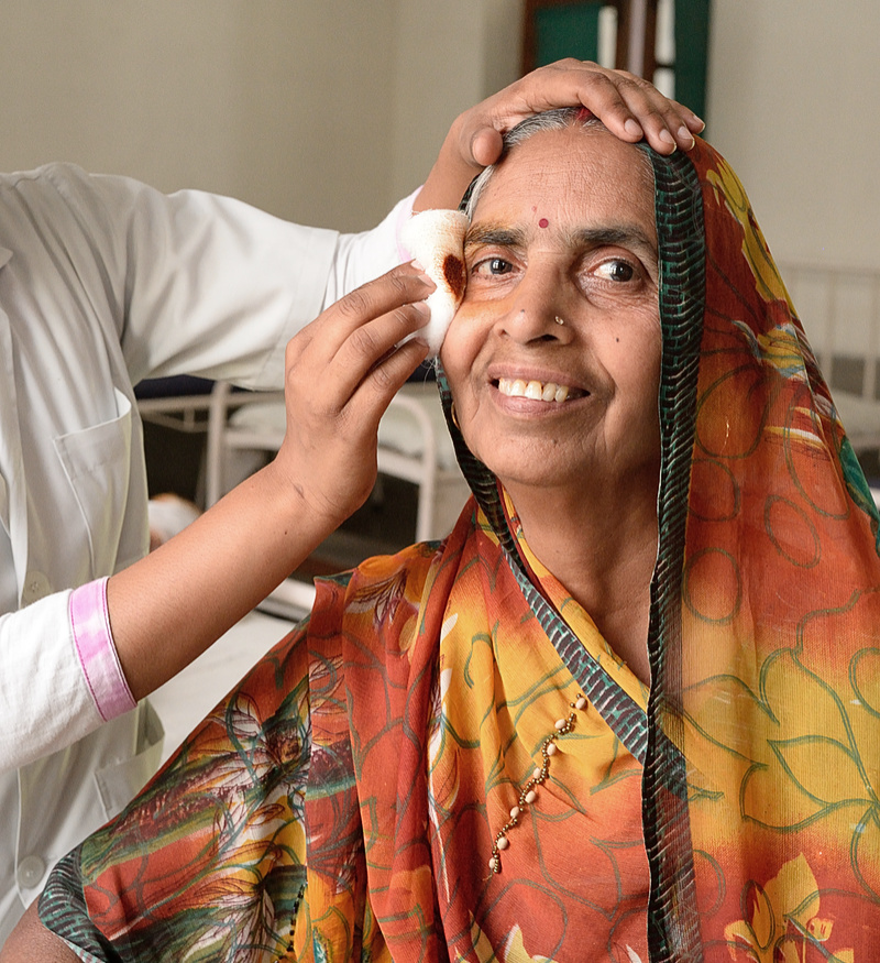 Post Eye-Surgery
