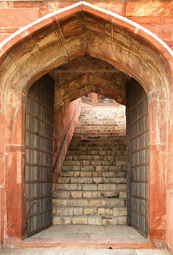 Stairs at Humayun's Tomb