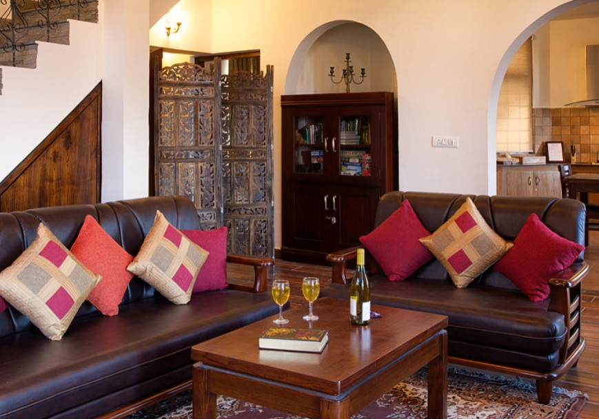 Living Room in Maini's Hill Cottages