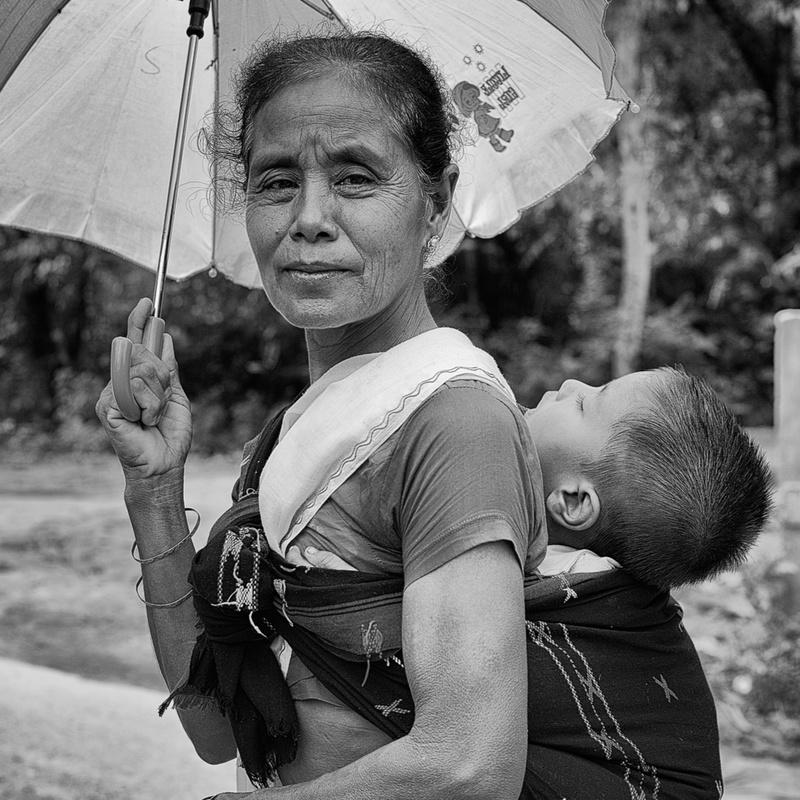 Granny with child
