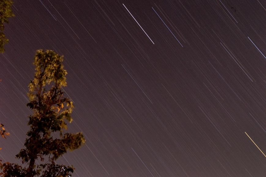 Star Trail with Noise