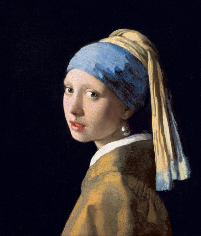 Girl with a pearl earning
