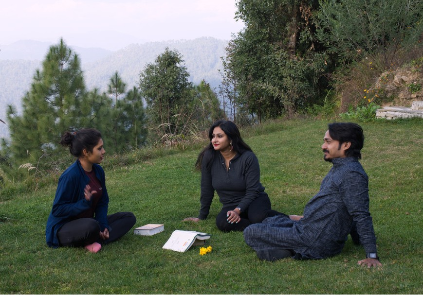 Discussions on the Lawn