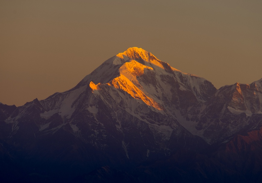 Morning Light on Trishul