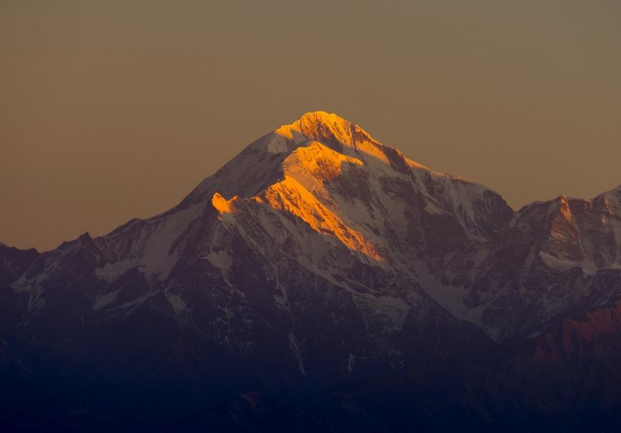 Morning Light on Trishul