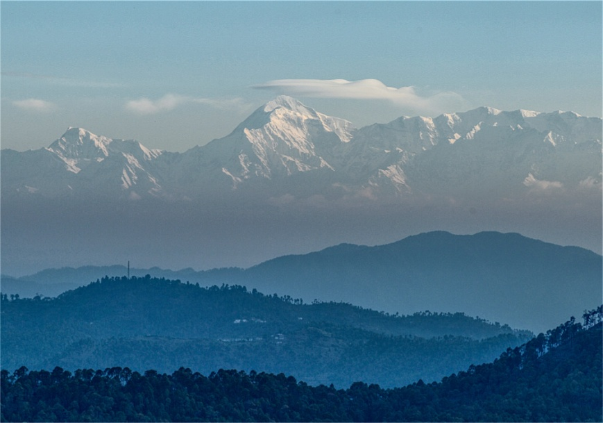 Trishul Peak in Morning
