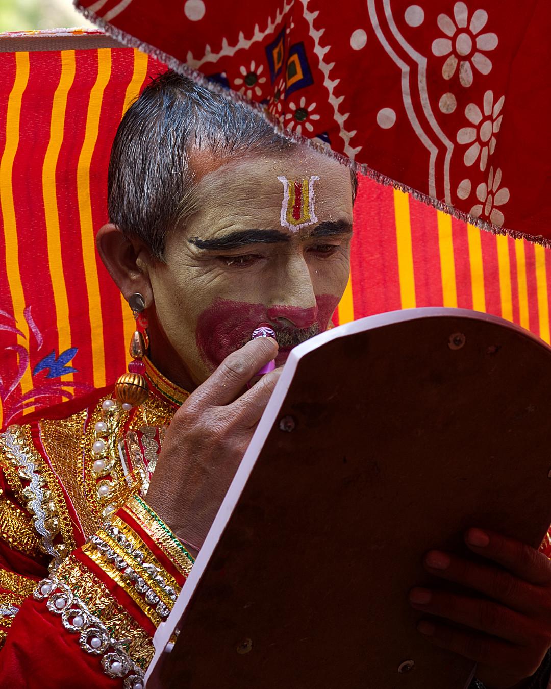 Make-Up on Hanuman