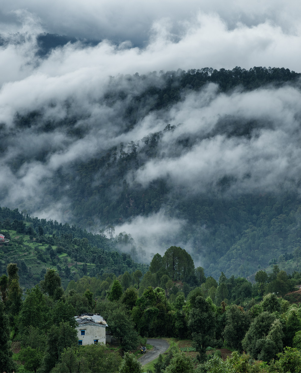 Cloudy Village