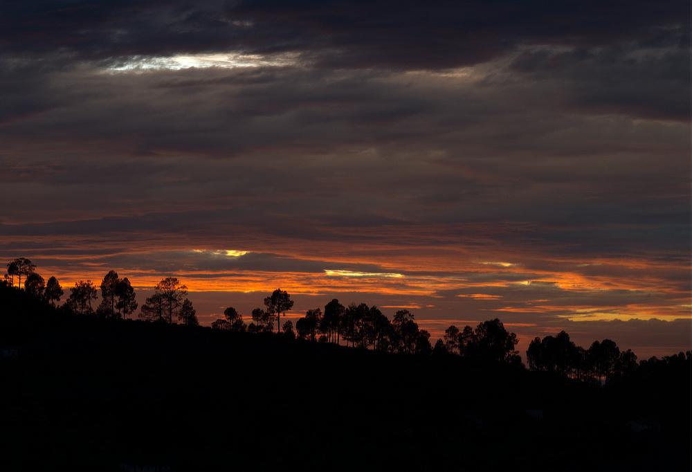 Sunset in Monsoons